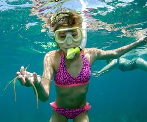 Snorkeling in the Keys, for visitors and residents alike, is all about the experience and it's a great family activity. Photo: Wendy Hall